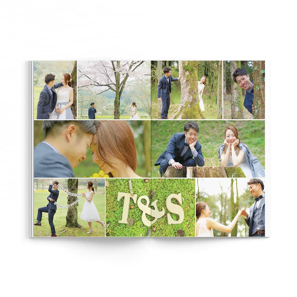 Natural / Tatsuya Saori Wedding Ver. / p13-p14