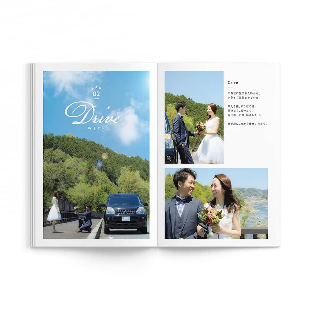 Natural / Tatsuya Saori Wedding Ver. / p5-p6