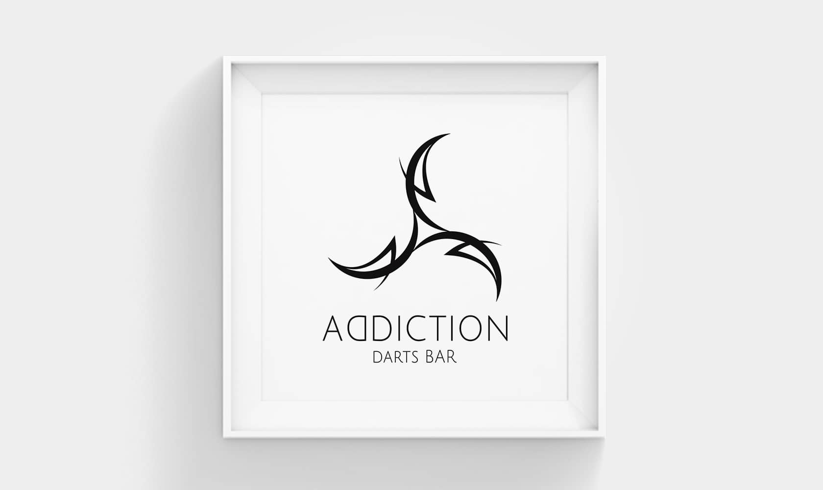 Darts Bar ADDICTION LOGO