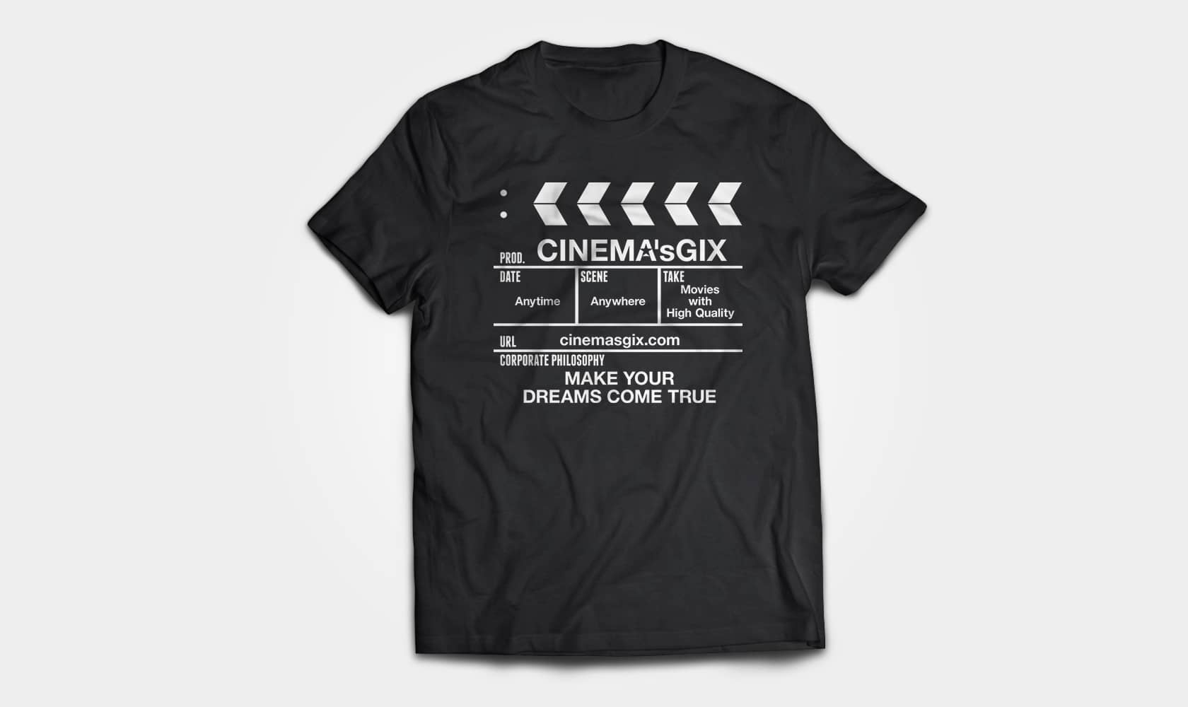 CINEMA'sGIX ORIGINAL T-SHIRTS Ver.01