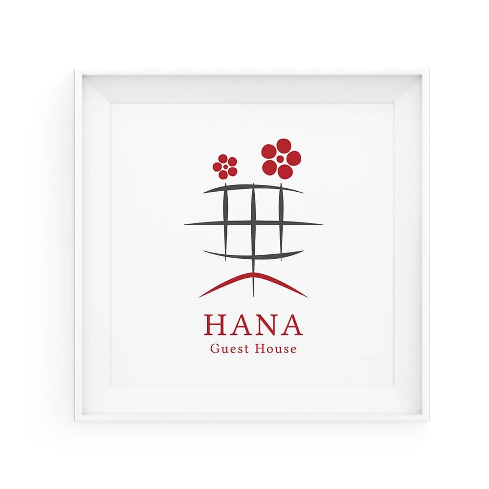 京の宿 華 西陣 / Guesthouse HANA ロゴ