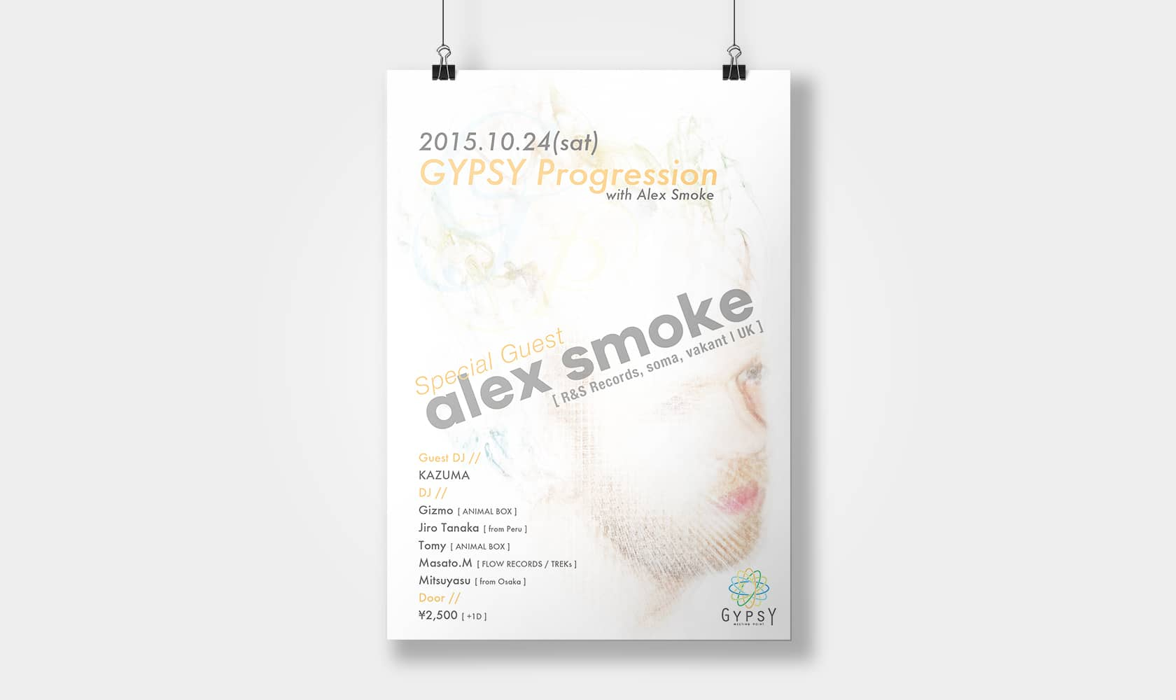 GYPSY PROGRESSION with Alex Smoke 2015.10.24