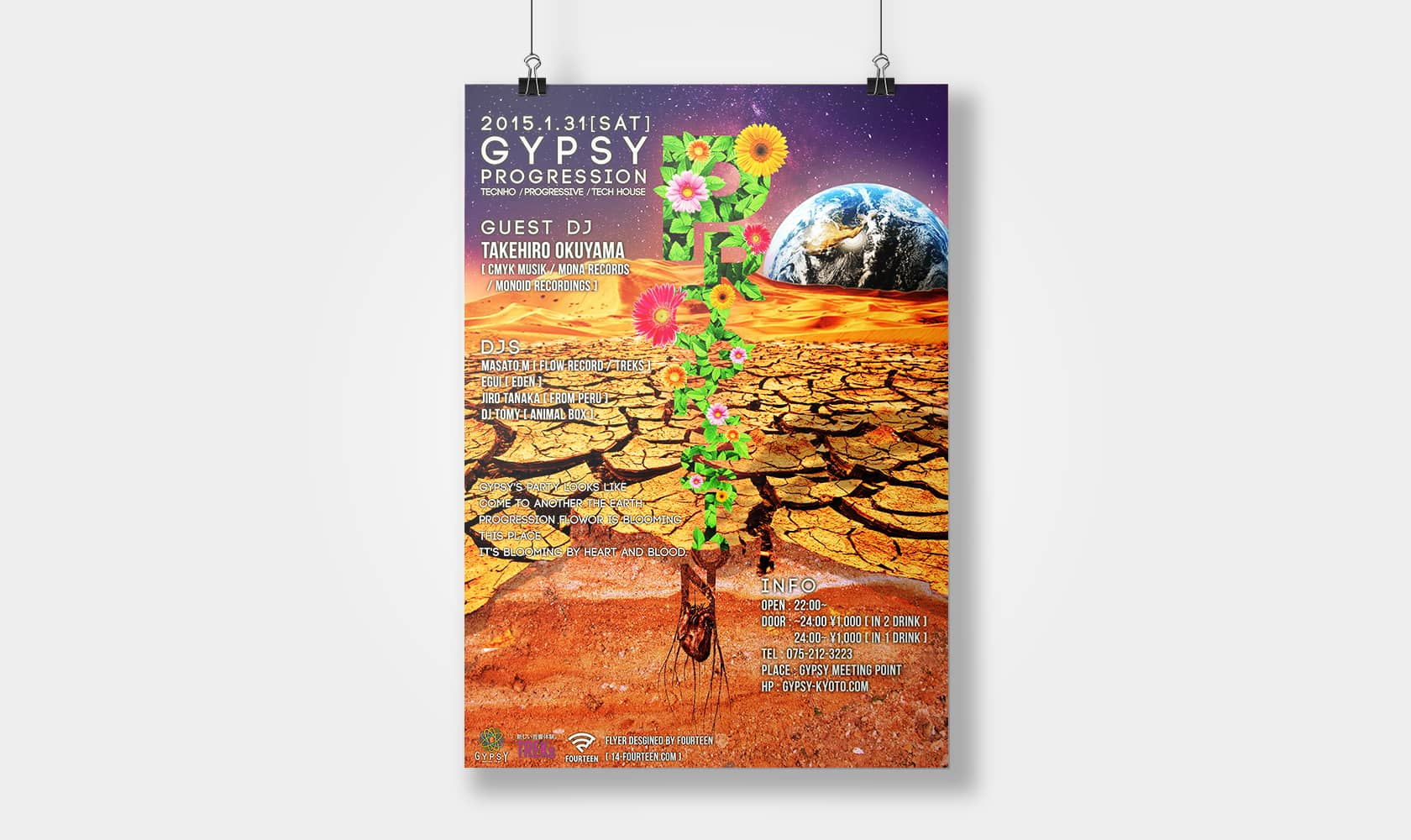 GYPSY PROGRESSION 2015.1.31