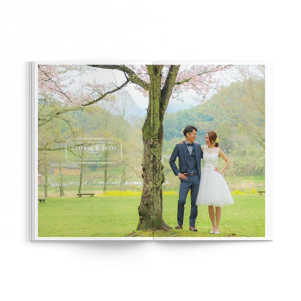 Natural / Tatsuya Saori Wedding Ver. / p11-p12