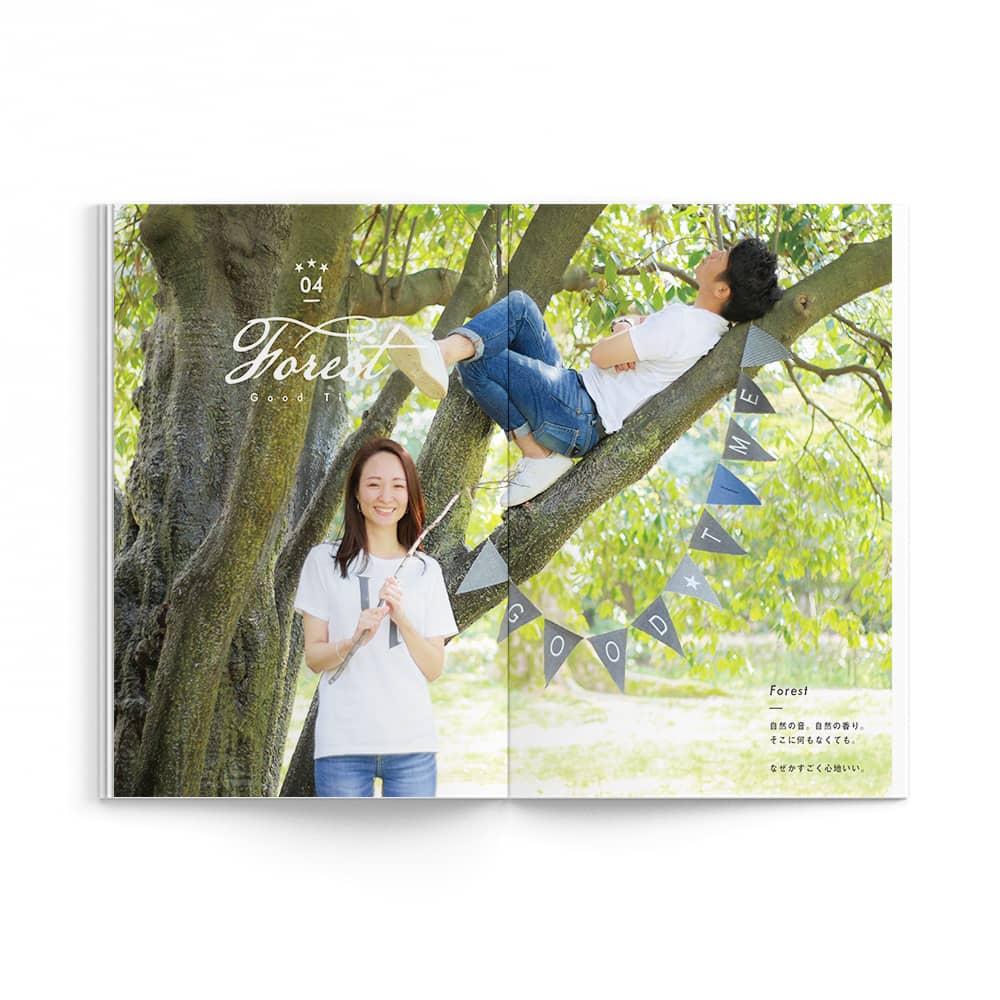 Natural / Tatsuya Saori Wedding Ver. / p15-p16